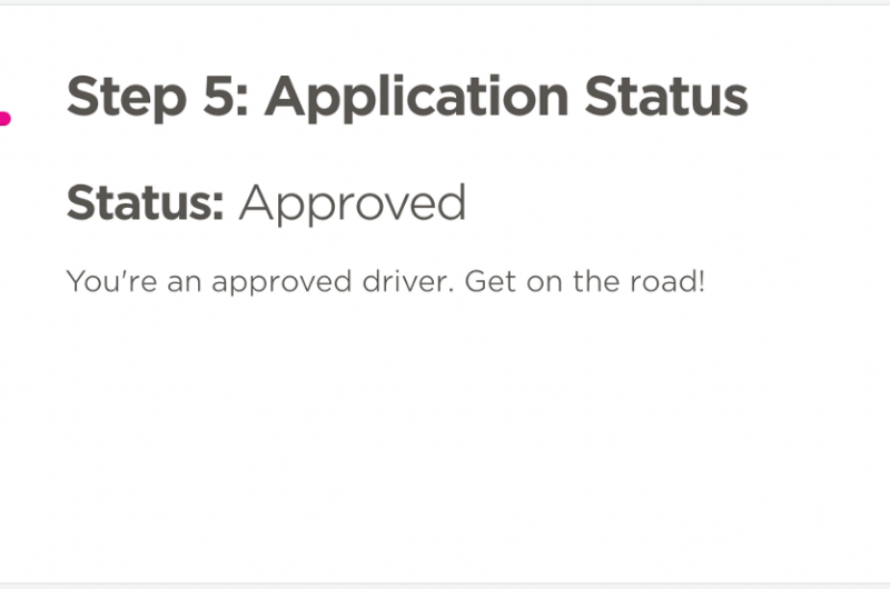 Check your application status