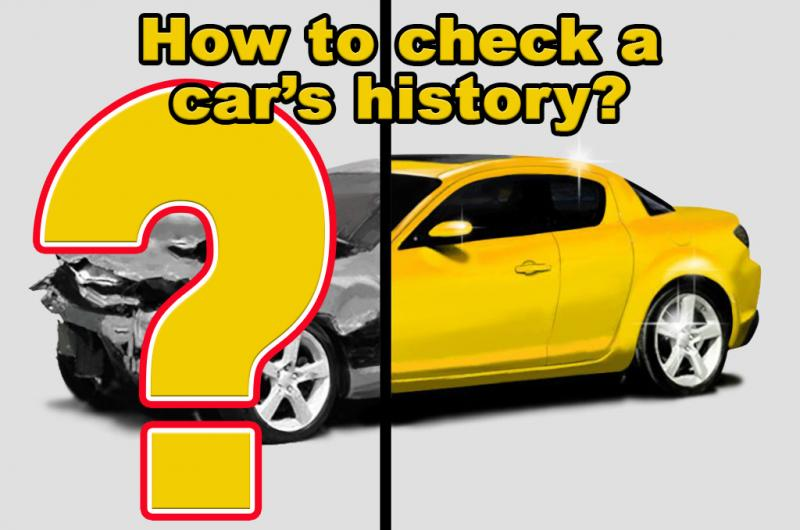 How to check a car's history?