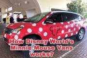 How Disney World's Minnie Mouse Vans works?