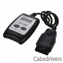 "1.5"" LCD OBD-II Code Reader Car Diagnostic Scan Tool - Black + Silver"