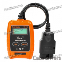 "VC310 1.4"" LCD Car Vehicle Diagnostic Tool Scanner - Orange + Black"