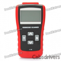 "2.8"" LCD ABS MaxScan MS500 CAN-BUS/OBDII Code Reader - Red + Black"