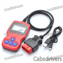 OBDMATE OM510 Car Vehicle OBDII Scan Tool - Red
