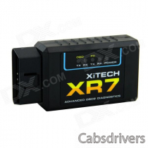 XR7 ELM327 Bluetooth OBD2 Scan Tool - Black
