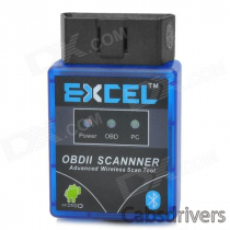 EXCEL V1.5 Mini ELM327 OBD2 OBD-II Bluetooth CAN-BUS Auto Diagnostic Tool