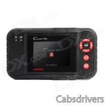 "Launch Creader VII+ 3.5"" LCD Diagnostic System Code Reader - Red + Black"