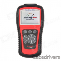 Autel MD802 MaxiDiag Elite MD802 All System Scanner Tool - Red + Black