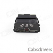 Super Mini iCar2 Vehicle Bluetooth OBD-II Code Diagnostic Tool / Clearer - Black + Grey
