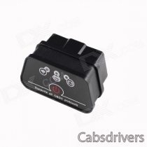 Super Mini Wi-Fi iCar2 Vehicle Wi-Fi OBD-II Code Diagnostic Tool / Clearer - Black