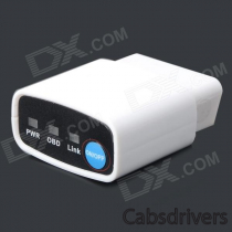 B17 Wi-Fi OBD2 Car Diagnostic Tool w/ Electronic Switch - White