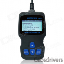 OBDMATE OM123 OBDII Car Diagnostic Code Scanner - Black