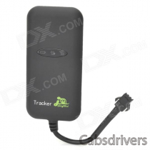 GT 02+ Mini Portable Dual-Mode Waterproof Vehicle GPS Positioning Tracker - Black