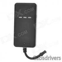 850 / 900 / 1800 / 1900MHz Car GPS / GSM / GPRS Vehicle Positioning Tracker - Black