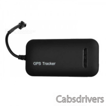 H02 Quad-Band 850/900/1800/1900MHz GPS / GSM / GPRS / SMS Car Anti-Theft GPS Tracker - Black