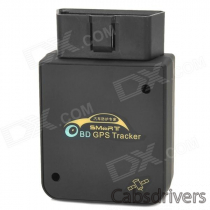 Heacent 908 Quad-Band OBD GPS/ GSM / GPRS Car Positioning Anti-Theft Alarm Tracker w/ Google Map