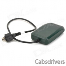TLT-2HG 900 / 1800MHz Car GPS / GSM / GPRS / Glonass Waterproof Vehicle Tracker - Dark Green