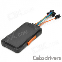 MT3326 GPS Anti-theft Vehicle Tracker for Car / Motorcycle - Black + Orange