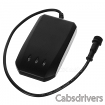 AT-12 GPS / Glonass / Galileo / Compass 850 / 900 / 1800 / 1900MHz Vehicle Tracker w/ SOS - Black