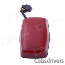 GPS304A Waterproof GSM / GPRS / GPS Tracker for Motorcycle / Moving Objects - Red