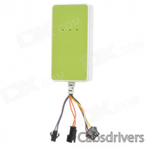 A18 Multifunctional GPS / GSM / GPRS Tracker for Cars + More - Green