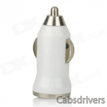 Car Charger + Spring Micro USB Data Cable for Samsung Galaxy S4 / Note 2 (12/24V)