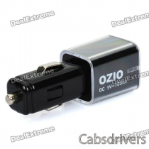 OZIO D10 USB Car Cigarette Powered Charger (DC 5V 700mA)