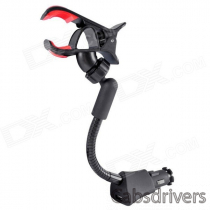 HC05J Universal Car Cellphone Holder w/ USB Charger for IPHONE 5, Galaxy S3, Nexus, HTC & More
