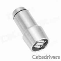CRERCO Thor T1 Alloy Stainless Steel Non-Contact 4.8A Dual-USB Smart Car Charger w/ Emergency Hammer