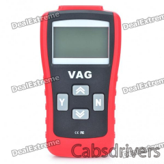 "2.8"" LCD Car Vehicle Diagnostic Tool Scanner - Red - 0"