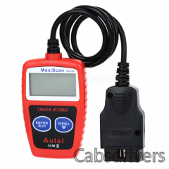"2.1"" LCD ABS MaxiScan MS309 CAN-BUS/OBDII Code Reader - Red - 0"