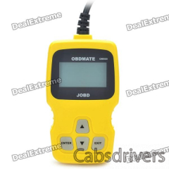 Car Vehicle OBDII/EOBD Scan Tool - Yellow - 0