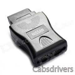 Professional Nissan 14-pin Diagnostic Consult Interface - Black - 0
