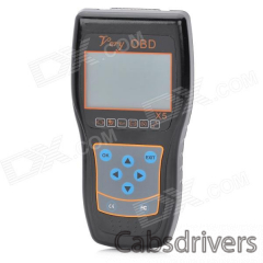 "Very OBD X5 2.8"" LCD OBD-II Handheld Vehicle Diagnostic Tool - Black - 0"