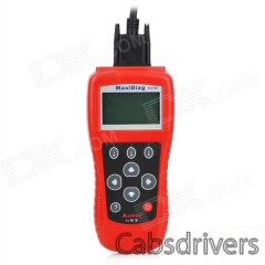 "MaxiScan EU702 2.8"" LCD Code Scanner Reader Diagnostic Tool for Benz / Volvo / BMW - Red - 0"