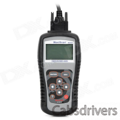 "MaxiScan MS609 2.8"" LCD Code Scanner Reader Diagnostic Tool for BMW / General + More - Grey + Black - 0"