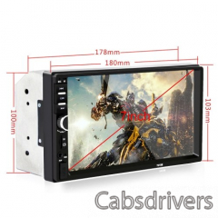 F8G9 7 Inch 2Din Touched Screen Car MP5 Player - 5