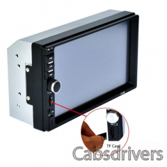 F8G9 7 Inch 2Din Touched Screen Car MP5 Player - 7