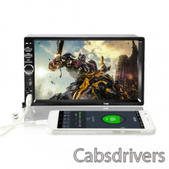 F8G9 7 Inch 2Din Touched Screen Car MP5 Player - 2