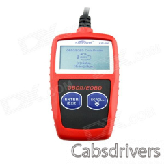 "KW806 2.1"" LCD CAN-BUS / OBDII Code Reader - Red - 0"