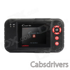 "Launch Creader VII+ 3.5"" LCD Diagnostic System Code Reader - Red + Black - 0"