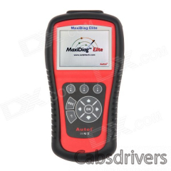 Autel MaxiDiag Elite MD802 4 System Scanner Tool - Red + Black - 0