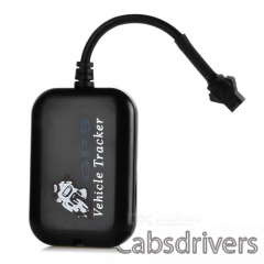 TX5 Portable GSM / GPRS Vehicle Tracker for Motorcycle / Electric Bike - Black - 0