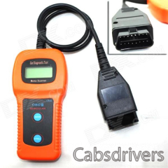 OBDII/EOBD2 Memo Scanner Accurate Fault Code Reader Car Diagnostic Tool - Orange + Black - 0