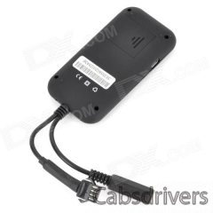 H020 Multi-Function 850 / 900 / 1800 / 1900NGz GMS / GPS Vehicle Tracker w/ Microphone - Black - 0