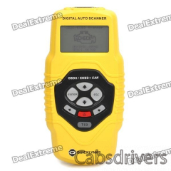 """2.7"""" LCD OBD2/OBDII Auto Scanner Diagnostic Tool - Yellow - 0"""