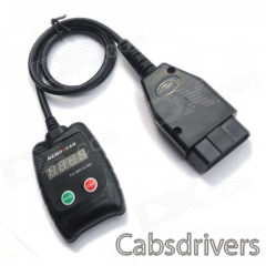 Auto Scanner Code Reader Diagnostic Tool for Mercedes Benz S&E Class - Black - 0