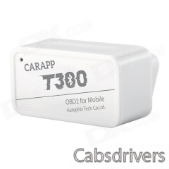 CARAPP T300 Mobile Phone Bluetooth Code Scanner - White - 0