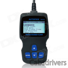 OBDMATE OM123 OBDII Car Diagnostic Code Scanner - Black - 0