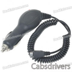 Car Adapter/Charger for HTC Desire HD/HD 7 (12~24V) - 0