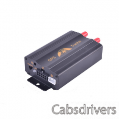 LSON TK103A Multi-Function GSM / GPRS / GPS / SMS Car Vehicle Positioning Tracker - Black - 0